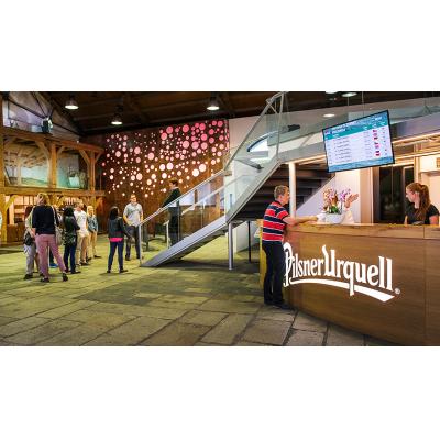 Do pivovarů Prazdroje v roce 2019 zavítalo 998 tis. návštěvníků