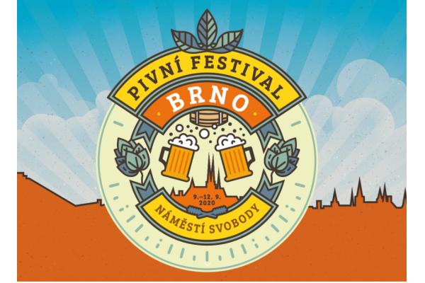 Pivní festival Brno již brzy 9. - 12. 9. 2020